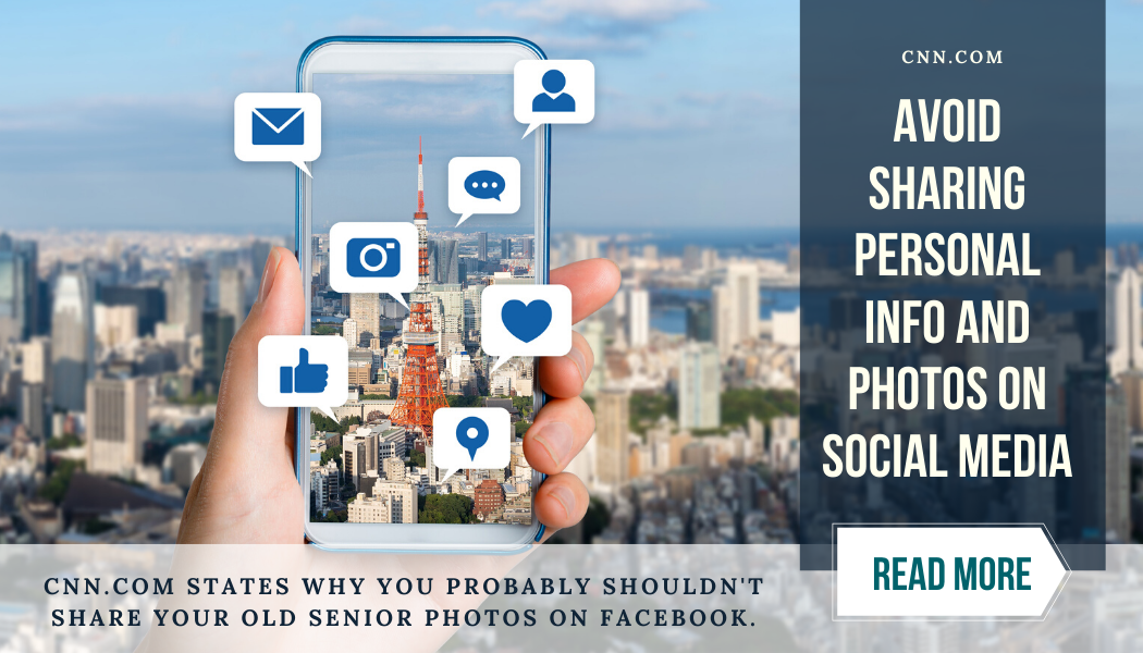 Avoid sharing personal info and photos on social media. Read More