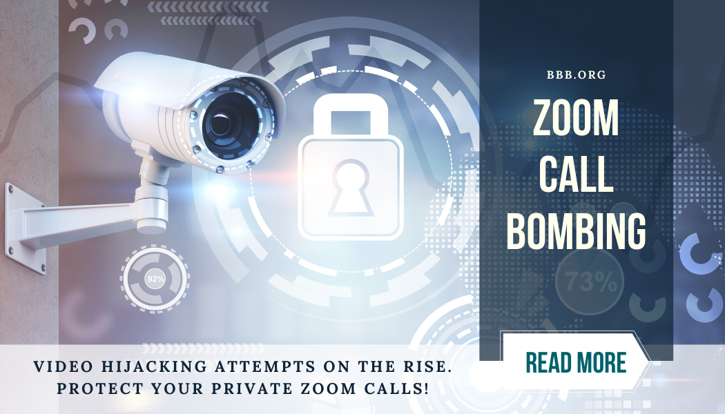 Zoom Call Bombing. Read More.
